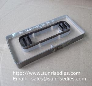 China Laser cut steel rule dies, China factory custom steel rule cutting die and tooling on sale