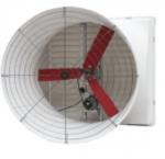 Buy cheap YDA018 6 Fiberglass Blades 750W Wind Exhaust Fan from wholesalers