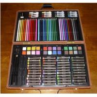 Buy cheap Artist Carrying Case Used Box 123 Art Set brand, watercolors,pencils from wholesalers