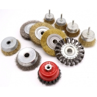 Buy cheap Parallel Stainless Steel Wire Wheel Grinding Brush Angle Grinder Root Carving Deburring Metal Derusting Flat Wire Brush from wholesalers
