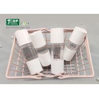 Buy cheap Soft Button Cosmetic Dropper Bottles 15ml Oily Serum Snap - On Logo Printing from wholesalers