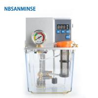 Buy cheap NBSANMINSE SDX2-22C Thin Oil Lubrication Pump Gear 2 liter 3 Liter 2 Mpa with single / Double digital display For CNC Ma from wholesalers