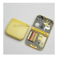 Buy cheap Hot Sale Promotional complete printed logo travel sewing box tool set gift from wholesalers