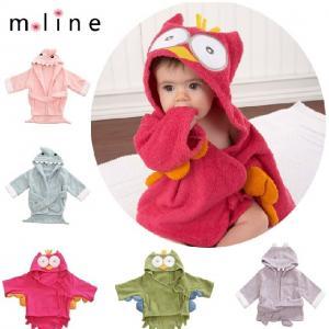 China New Hooded Animal modeling Baby Bathrobe/Cartoon Baby Towel/Character kids bath robe on sale