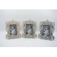 Buy cheap Handmade Baroque Vintage Resin Photo Frame , Durable Resin Picture Frames from wholesalers