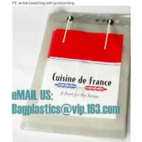 Buy cheap Micro-perforated Gusseted French Bread, PP bread bags, micro, bread bags, Cpp bags, opp from wholesalers