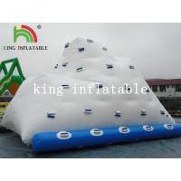 Buy cheap Backyard White Inflatable Water Iceberg / Durable PVC Custom Logo Printed Water Toy from wholesalers