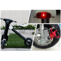 Buy cheap Lithium battery powered 12Ah 48V Folding Electric Bike / motorbike for Teenager from wholesalers