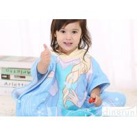 Buy cheap Cute Animal Hooded Poncho Towels For Children Cotton / Polyester Material from wholesalers
