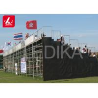 Buy cheap OEM Floor Mounted Stadium Folding Grandstand Layher Seating Bleachers from wholesalers