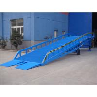 Buy cheap Dock Equipment Mobile Yard Ramp Hydraulic Container Ramp 6000KG 8000KG from wholesalers