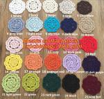 Buy cheap Retro pattern Crochet Doily Crochet cup mat Applique Home Decoration, Crochet Doily from wholesalers