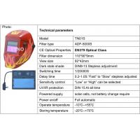 Buy cheap CE ANSI Automatic welding helmets with Grinding function from wholesalers