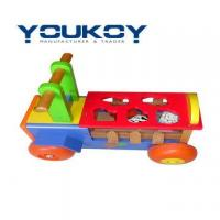 China Wooden Toy Car Educational Sorting Box(WT1077) on sale