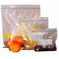 Buy cheap Double track zip loc bag made from food grade material for apple packing, double track zipper apple bag, Gallon Storage from wholesalers