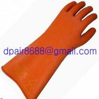 Natural Rubber Industrial Insulating Gloves Manufactures