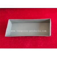 Buy cheap High Heating / Great Welding TZM Alloy Molybdenum Evaporation Boats for Sapphire Growth from wholesalers