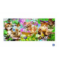 Wholesale Wall Art 3D Lenticular Picture Flip Cute Cats And Dolphins With 12X17 Inches from china suppliers