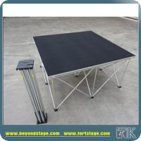 Buy cheap Easy to set up portable stage platform smart stage with square/triangle/quarter/rectangle shape with strong risers from wholesalers