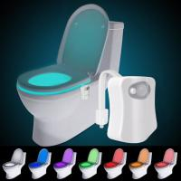 Buy cheap ABS Small Motion Night Light LED Toilet Bowl Light Energy Saving High Efficiency from wholesalers