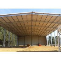 Buy cheap Open Sides Garage Metal Warehouse Buildings Construction Metal Sheds Design from wholesalers