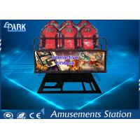 Buy cheap Digital Control 5D Movie Theater / 5D Cinema Equipment With 9 Stander Seats from wholesalers