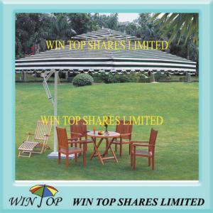 China 4 * 4m Aluminum Garden Furniture Umbrella on sale