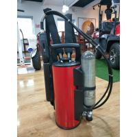 Wholesale Stainless Steel Fire Fighting Equipment 9L Backpack Water Mist Fire Extinguisher from china suppliers