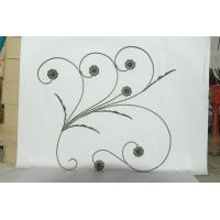 Buy cheap Metal Flower Panels Wrought Iron from wholesalers