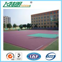 Buy cheap Rubber Sport Court Flooring Anti Slip Floor Coating Acrylic Sports Surfaces from wholesalers