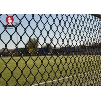 Buy cheap Square Post Height 2.5m Metal Wire Fence Security Chain Link Wire from wholesalers