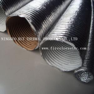 Aluminum protective tube Car engine aluminum foil duct Manufactures