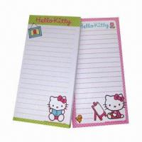 Buy cheap Magnetic shopping list pad, measures 18x9cm from wholesalers