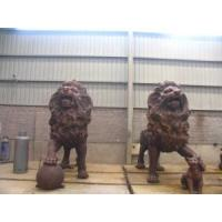 Wholesale Bronze Casting Art Lion Sculpture for Royal Decor in Garden from china suppliers