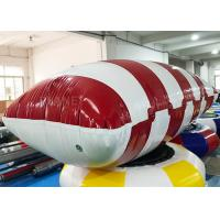 Buy cheap Funny Customized Inflatable Water Catapult Blob Jumping Pillow For Lake from wholesalers