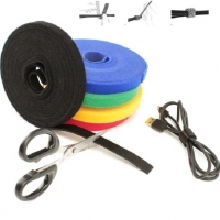 Buy cheap Multipurpose Double Sided velcro Hook and Loop Strap Back to Back Cable Tie with Logo Printing from wholesalers