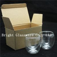 Buy cheap double wall thermo glasses, double wall wine glasses for wholesale from wholesalers