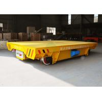 Buy cheap Heavy duty material handling trolley on rails applied in construction industry from wholesalers