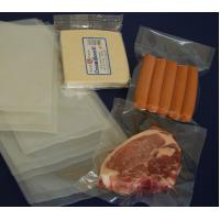 China Nylon / PE Laminated Co-extrusion Chilled Vacuum Packaging Bags for Food Transparent on sale