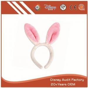 China Plush Short Fiber Rabbit Modeling Headband on sale