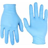 Buy cheap Medical Disposable Nitrile Gloves Powder Free , Blue Gloves Disposable Nitrile from wholesalers