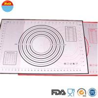 Buy cheap No Space Occupation Silicone Baking Sheet , Easy To Dry Non Stick Baking Mat from wholesalers