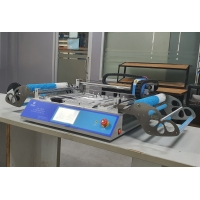 Buy cheap 2 Heads 58 Feeders CHMT48VB Benchtop SMD Pick and Place Machine / All in one Chip Mounter from wholesalers