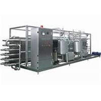 Buy cheap Milk UHT Sterilization Machine / Pipe In Pipe Sterilizer With PLC Finger Touch Screen from wholesalers