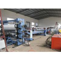 Buy cheap Single Screw PP Plastic Sheet Extrusion Line PP Free Foamed Sheet For Decoration from wholesalers