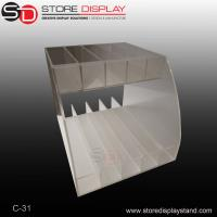 Buy cheap two tiers acrylic counter top display/table acrylic display from wholesalers
