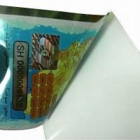 Buy cheap Security Car Windshield Printing Sticker, Self-adhesive, Customized Designs are Accepted from wholesalers
