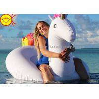China Giant Inflatable Unicorn Water Games Float Inflatable Ride On Unicorn Floating Pool Toys on sale