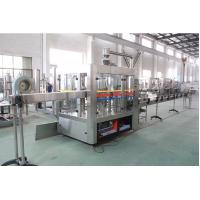 Buy cheap 15000 BPH Carbonated Water Filling Machine / Production Line Commercial For Fruit Drink from wholesalers