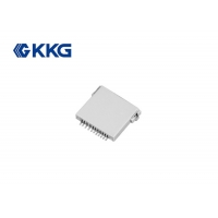Buy cheap Copper Push Push Smart Card Socket Tf Card CE Approved anti collision function from wholesalers